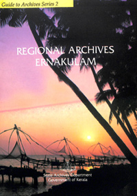 Guide to Records- Regional Archives, Ernakulam