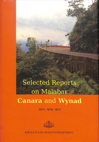 Selected reports on Malabar, Canara and Wayanad